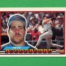 1989 Topps BIG Baseball #127 Pete Incaviglia - Texas Rangers