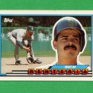 1989 Topps BIG Baseball #109 Rich Renteria - Seattle Mariners