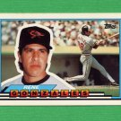 1989 Topps BIG Baseball #087 Rene Gonzales - Baltimore Orioles