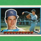 1989 Topps BIG Baseball #086 Mike Macfarlane - Kansas City Royals