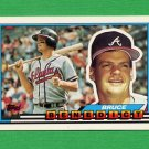 1989 Topps BIG Baseball #083 Bruce Benedict - Atlanta Braves