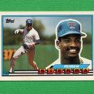 1989 Topps BIG Baseball #082 Ruben Sierra - Texas Rangers