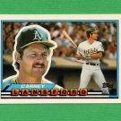 1989 Topps BIG Baseball #057 Carney Lansford - Oakland A's