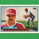 1989 Topps BIG Baseball #054 Tom Brunansky - St. Louis Cardinals