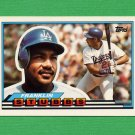 1989 Topps BIG Baseball #032 Franklin Stubbs - Los Angeles Dodgers