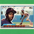 1989 Topps BIG Baseball #030 Mark McLemore - California Angels
