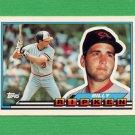 1989 Topps BIG Baseball #027 Billy Ripken - Baltimore Orioles
