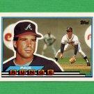 1989 Topps BIG Baseball #023 Paul Runge - Atlanta Braves