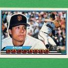 1989 Topps BIG Baseball #021 Atlee Hammaker - San Francisco Giants