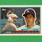 1989 Topps BIG Baseball #001 Orel Hershiser - Los Angeles Dodgers