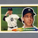 1988 Topps BIG Baseball #256 Mike Henneman - Detroit Tigers