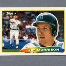 1988 Topps BIG Baseball #237 Jim Morrison - Detroit Tigers