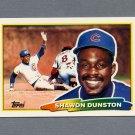 1988 Topps BIG Baseball #225 Shawon Dunston - Chicago Cubs