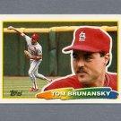1988 Topps BIG Baseball #211 Tom Brunansky - St. Louis Cardinals