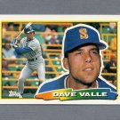 1988 Topps BIG Baseball #210 Dave Valle - Seattle Mariners