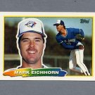 1988 Topps BIG Baseball #208 Mark Eichhorn - Toronto Blue Jays