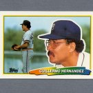 1988 Topps BIG Baseball #206 Willie Hernandez - Detroit Tigers