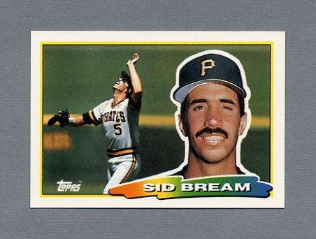 1988 Topps BIG Baseball #205 Sid Bream - Pittsburgh Pirates