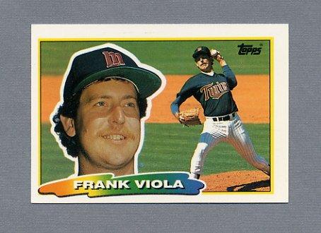 1988 Topps BIG Baseball #201 Frank Viola - Minnesota Twins