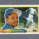1988 Topps BIG Baseball #198 Oddibe McDowell - Texas Rangers