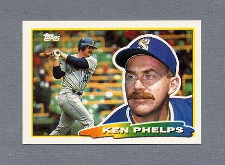 1988 Topps BIG Baseball #189 Ken Phelps - Seattle Mariners