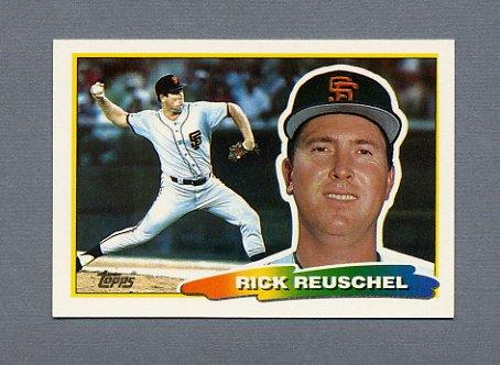 1988 Topps BIG Baseball #188 Rick Reuschel - San Francisco Giants