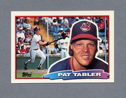 1988 Topps BIG Baseball #173 Pat Tabler - Cleveland Indians