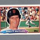 1988 Topps BIG Baseball #166 Brett Butler - San Francisco Giants