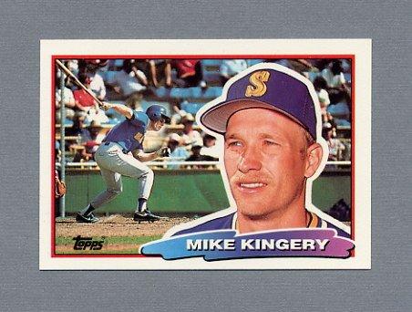 1988 Topps BIG Baseball #160 Mike Kingery - Seattle Mariners