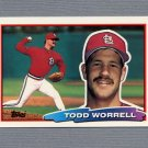 1988 Topps BIG Baseball #149 Todd Worrell - St. Louis Cardinals