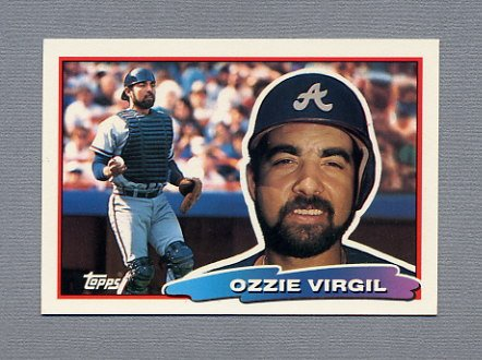 1988 Topps BIG Baseball #148 Ozzie Virgil - Atlanta Braves