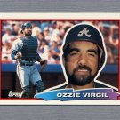 1988 Topps BIG Baseball #148 Ozzie Virgil - Atlanta Braves