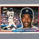 1988 Topps BIG Baseball #147 Chet Lemon - Detroit Tigers