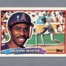 1988 Topps BIG Baseball #145 Devon White - California Angels