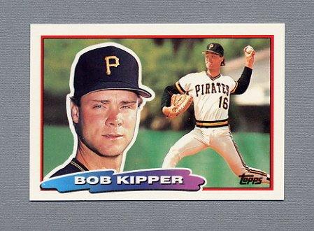 1988 Topps BIG Baseball #141 Bob Kipper - Pittsburgh Pirates