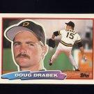 1988 Topps BIG Baseball #124 Doug Drabek - Pittsburgh Pirates
