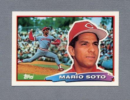 1988 Topps BIG Baseball #120 Mario Soto - Cincinnati Reds