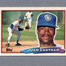 1988 Topps BIG Baseball #117 Juan Castillo - Milwaukee Brewers