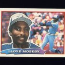 1988 Topps BIG Baseball #113 Lloyd Moseby - Toronto Blue Jays