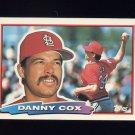 1988 Topps BIG Baseball #111 Danny Cox - St. Louis Cardinals