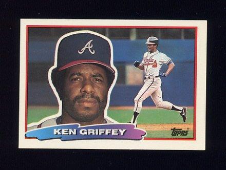 1988 Topps BIG Baseball #110 Ken Griffey Sr. - Atlanta Braves