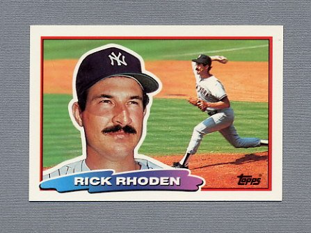 1988 Topps BIG Baseball #108 Rick Rhoden - New York Yankees