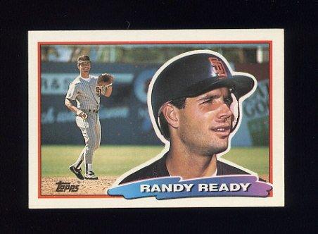 1988 Topps BIG Baseball #102 Randy Ready - San Diego Padres
