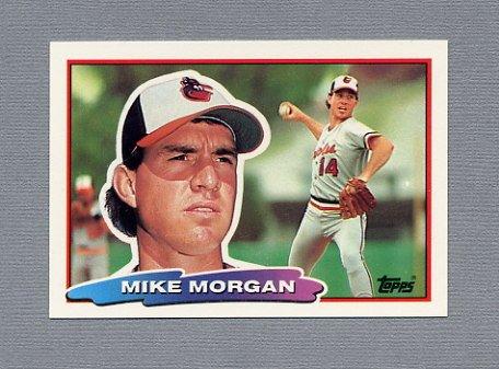 1988 Topps BIG Baseball #098 Mike Morgan - Baltimore Orioles