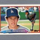 1988 Topps BIG Baseball #091 Orel Hershiser - Los Angeles Dodgers
