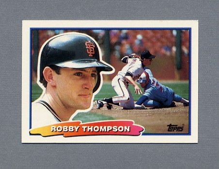 1988 Topps BIG Baseball #083 Robby Thompson - San Francisco Giants