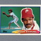 1988 Topps BIG Baseball #067 Juan Samuel - Philadelphia Phillies