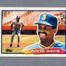 1988 Topps BIG Baseball #064 Alvin Davis - Seattle Mariners