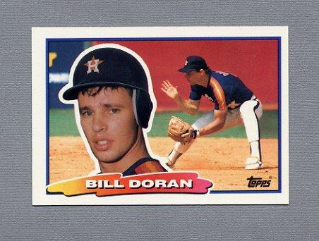 1988 Topps BIG Baseball #051 Bill Doran - Houston Astros
