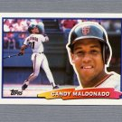 1988 Topps BIG Baseball #035 Candy Maldonado - San Francisco Giants
